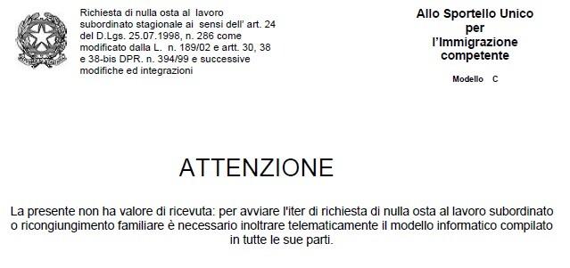 decreto flussi 2016 – studio legale Imperia Sanremo , avvocato ...